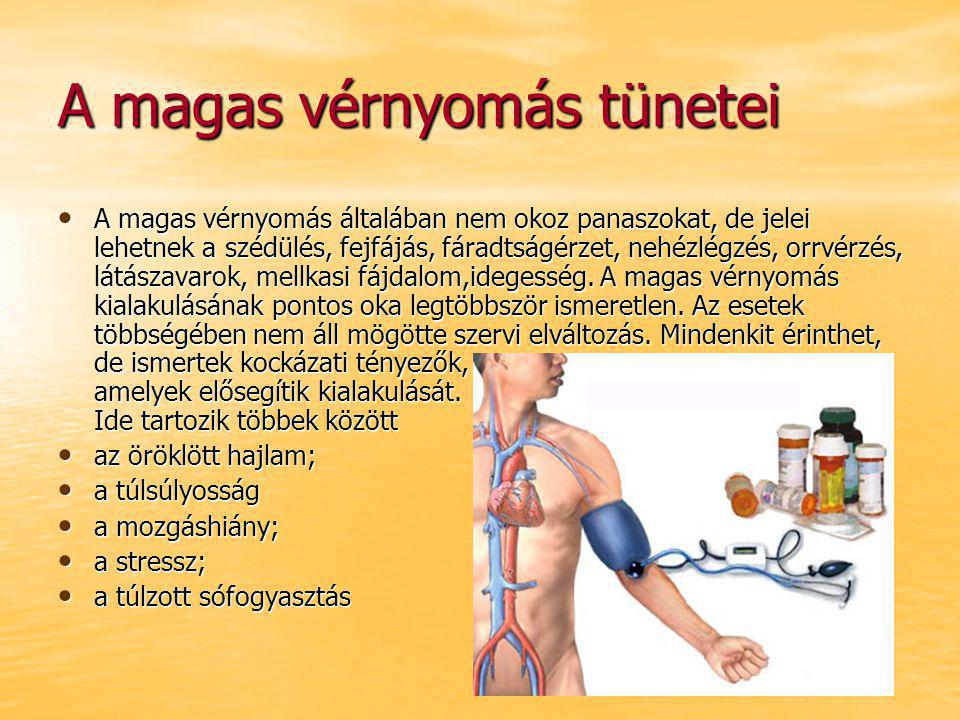 fejfájás és szédülés magas vérnyomással
