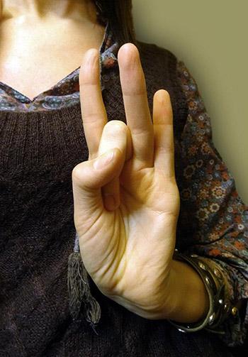 Gyógyító kéztartások - Mudrák