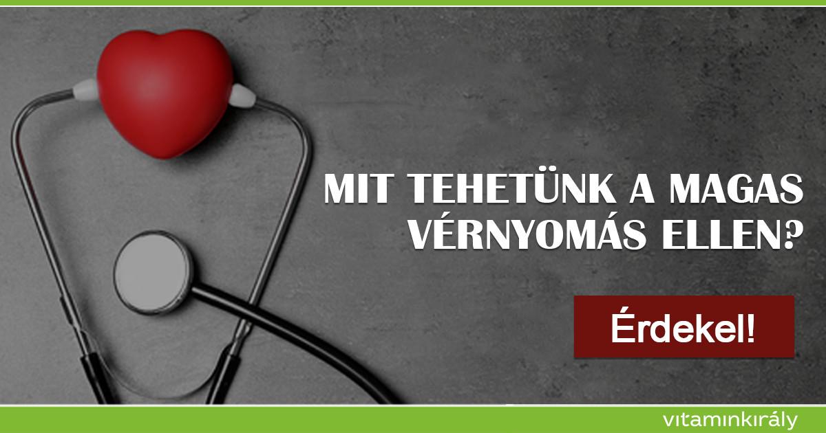 étrend a szív és az erek magas vérnyomás betegségei ellen