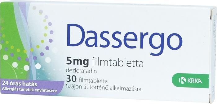 Gyógyszerkereső - Allergia gyógyszerek - 1. oldal