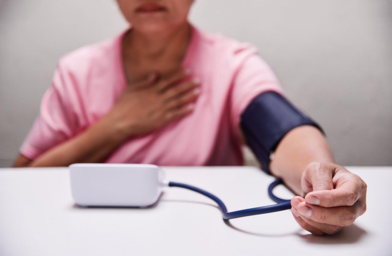 tesztek a magas vérnyomás kimutatására