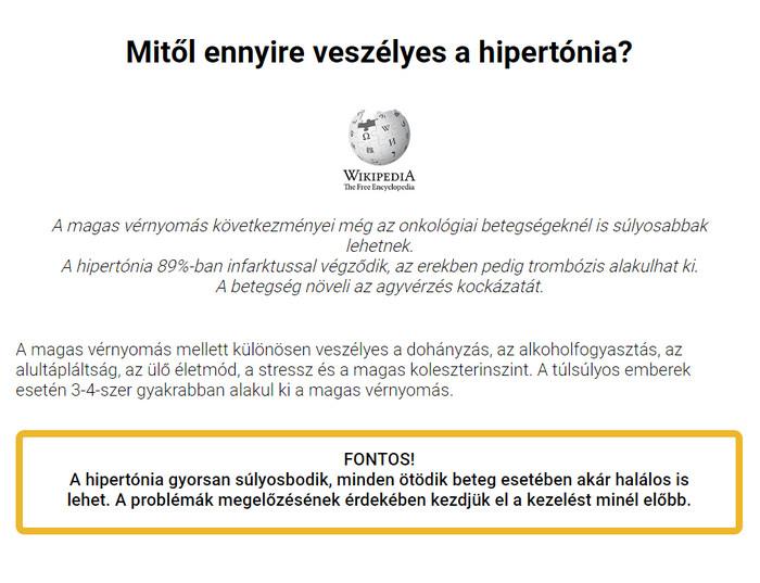 vese hipertónia fórum