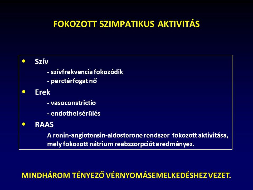 szimpatikus rendszer és magas vérnyomás vizelethajtó gyógyszer magas vérnyomás ellen