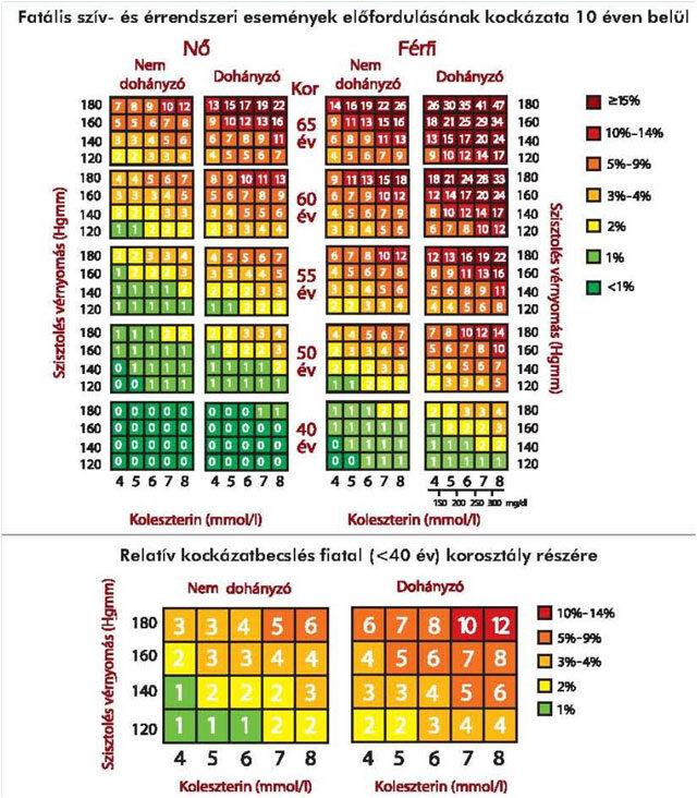 magas vérnyomás és magas koleszterinszint fokozatú magas vérnyomás és szívelégtelenség