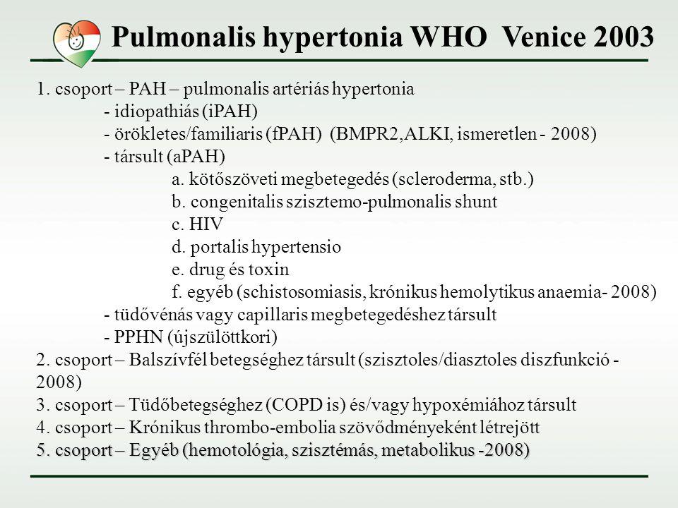 mi a pulmonalis hipertónia milyen klímában jobb hipertóniával élni
