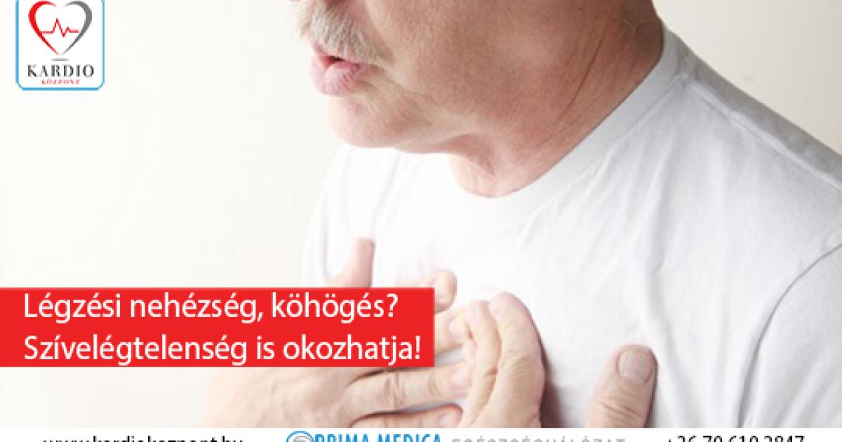 nehéz légzés magas vérnyomás esetén