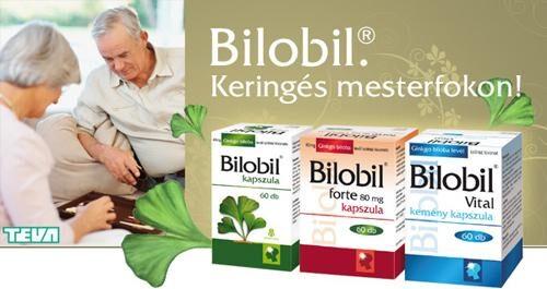 Magas vérnyomás stressz hatására, Bilobil és magas vérnyomás